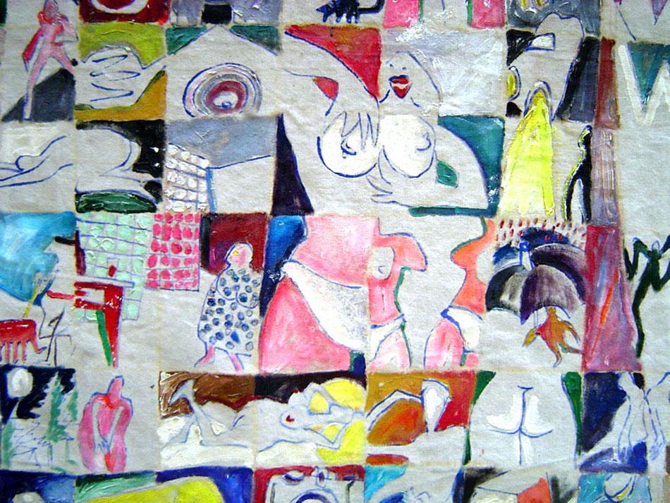 Plágaro: evolution of paintings 1985-1