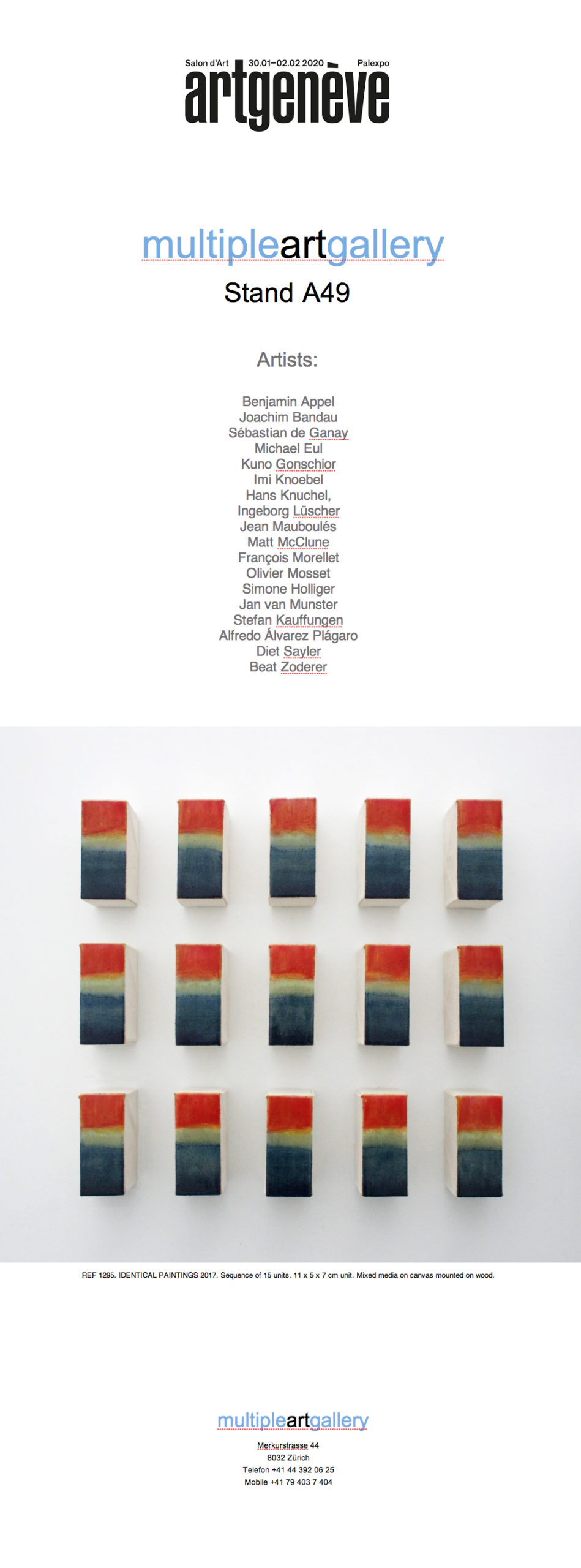 ART GENÈVE 2020
